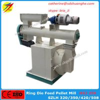 Low price poultry and animal feed pellet mill pelletizer machine thumbnail image