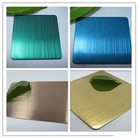 304 316 Decorative Color Pattern Stainless Steel Sheet