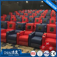 Popular electric recliner theme hall cinema sofa