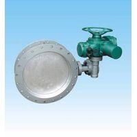 Electric wear dust gas  butterfly valve