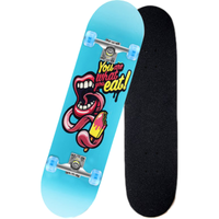 Popular four-wheel skating board e skateboard for children and young people