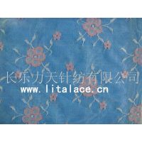 flower with five leaves tricot lace fabricM1384 thumbnail image