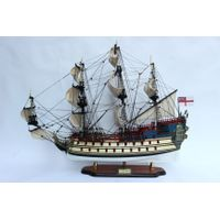 LA LICORNE / UNICORN WOODEN TALL SHIPS MODEL - WOODEN DECORATION