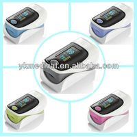 Pulse oximeter with two Spo2, pulse rate