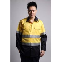 custom hi vis cotton workwear shirt