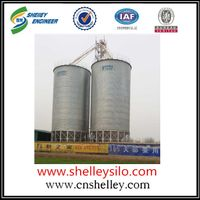 Farm machinery bolted rice storage steel silo for sale