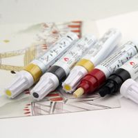 Aluminum container Barrel Oil-Based Ink Paint Marker Pen