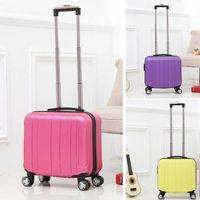 Bw1-064 ABS+PC Spinner Caster Carry-on Type Trolley Luggage Trolley Bag thumbnail image