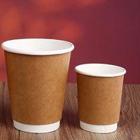 100% Eco-friendly kraft coffee cup wholesales thumbnail image