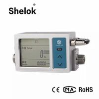 Digital co2 mass gas flow meter