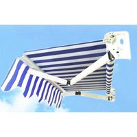 Retractable awning RA-001 strong steel arm
