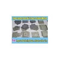 117pcs/set BGA Steel mesh set