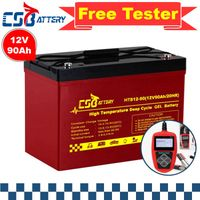 Csbattery 12V90ah Block Gel Battery for Scrubber/Telecome/Medical/Bts-Stations/Upsc/Vs: Shoto/Sunny/
