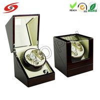 High Quality Wholesale Customized Wooden Watch Winder thumbnail image