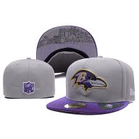 NFL Baltimore Ravens New Era Size Hats Fitted Caps