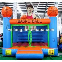 Factory price Inflatable Castle Basketball Bounce/inflatable bouncer/inflatable castle