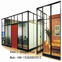 Aluminum Frame Office Glass Partition