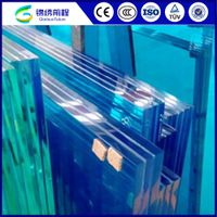 High quality tempered laminated glass for curtain wall