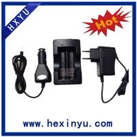 Dual charger for 18650 Lithium ion batteries thumbnail image