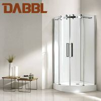 Coner-Quadrant Shower Room Shower sliding door