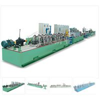 High frequency tube making machine