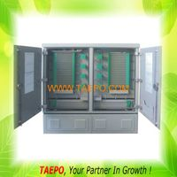 1152 fibers double-sided double doors Outdoor SMC fiber cabinet