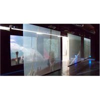 RONGCOOL RCH022 PET Window Display Rear Transparent Holographic Rear Projection Screen thumbnail image