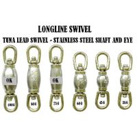 Longline swivel - Leaded barrel swivel