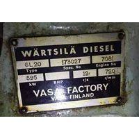 Marine diesel engine set WARTSILA 6L20