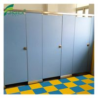 304 stainless steel compact laminate toilet partition