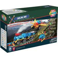 X-BAR TRANSPORTATION Educational magnetic block toy