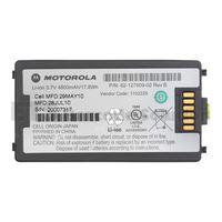 Motorola Symbol MC3100 Battery 4800mAh thumbnail image