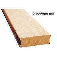Bottom Rail for Wood Blind(Litong Wood)