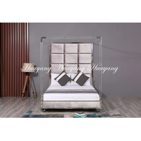 Luxury Stainless Steel Upholstery Bed thumbnail image