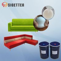 Two Part Silicone Foam Rubber Sofa Filling Material