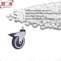 tpe granule for castor / wheel