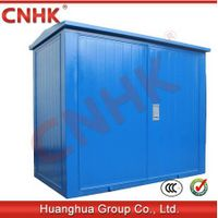 prefabricated(American )transformer substation(steel plate, blue color) thumbnail image