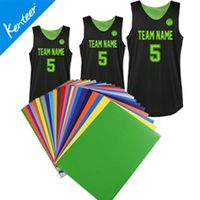 PU stickers for jersey accessory heat transfer type 12pieces a lot with A4 size thumbnail image