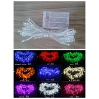 Factory wholesale christmas decoration pvc black wire warm white led outdoor garden string light hol thumbnail image