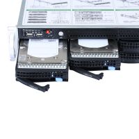 2u rack dual xeon E5-2620V2 CPU 16G RAM 2T HDD 8Bay storage server thumbnail image