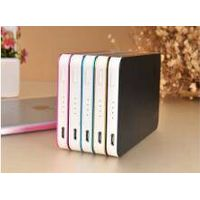Quick Selling 6000mah power bank charger Mobile Phone Power Bank partable power bank with 2pcs USB o