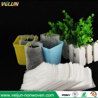 Eco friendly breathable polypropylene grow bag