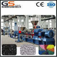 PVC, XLPE cable raw material granules plastic extruder