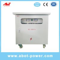 ABOT Outdoor Use Waterproof 380V to 220V Isolation Transformer IP65 54 thumbnail image