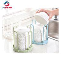 Plastic kitchen utensil organizers dish drainer rack dish holder drier dryer