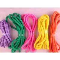 Rainbow color 5mm nylon rope string for sale