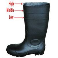 steel toe cap safety boot