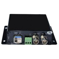 HD-SDI Fiber Optic Transmitter and Receiver