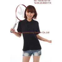Wholesale 100% black cotton Summer women  tee shirt