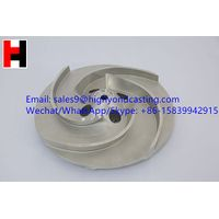 China supply investment casting lost wax stainless steel blower impeller thumbnail image